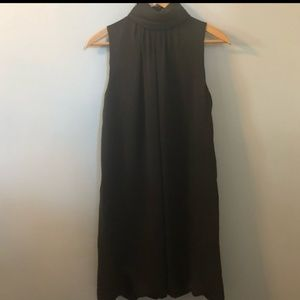 EUC Black Zara High Neck Dress